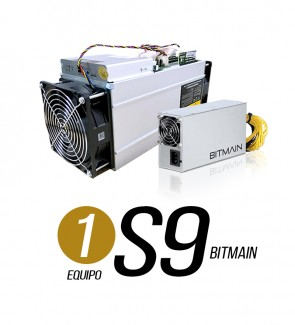 1 EQUIPOS S9 13.5 TH/s + 1...